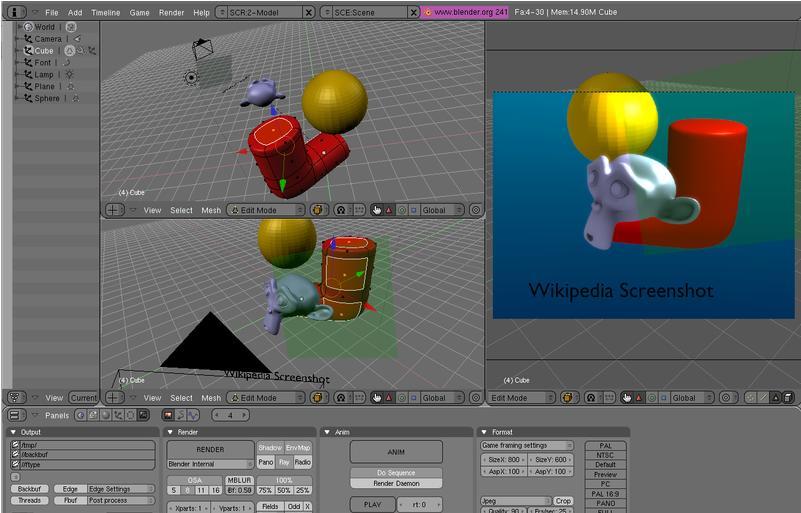 Membuat Animasi 3d Dengan Blender 3d Mau Tau